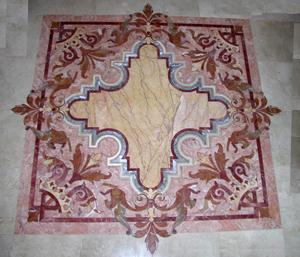 мозаика из мрамора