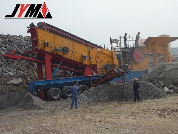 Дробильно-сортировочная установка компании ООО Шанхайская Машиностроительная компания Цзянье