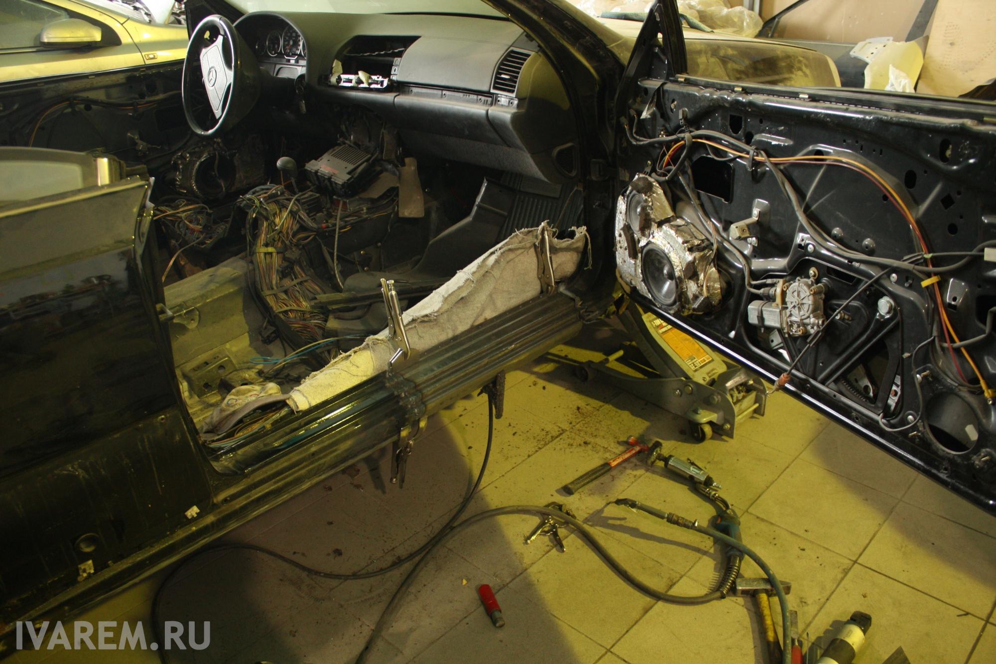 Mercedes Benz W140 Coupe полная реставрация кузова и салона. mercedes, mercedes-benz, w140, авто, ремонт кузова, ремонт салона